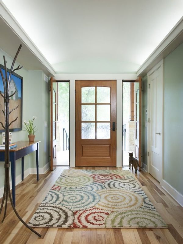 Small Round Foyer Rugs : Things to keep in mind when choosing an entryway rug