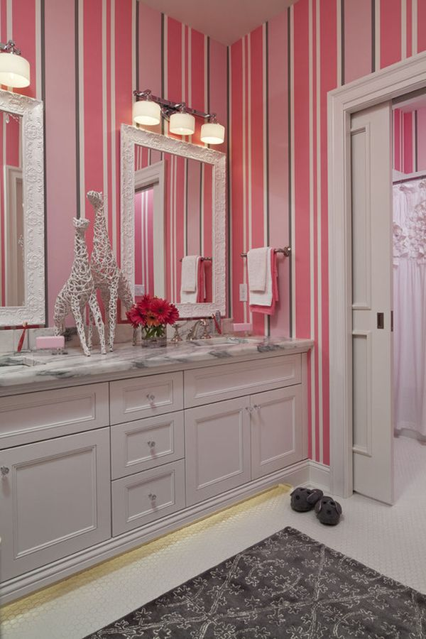 5 Themes For Your Little Girls Bathroom