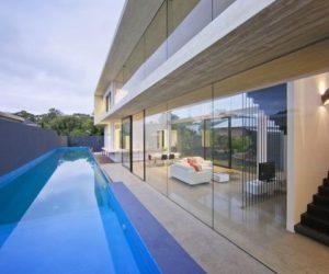 The striking Breust Residence in Perth, Australia