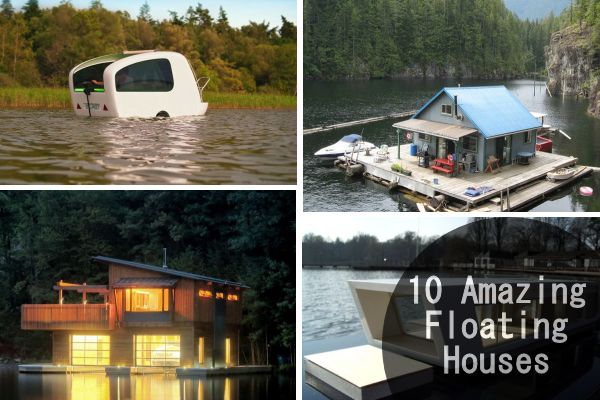 Pleasing 10 Amazing Floating Houses Around The World Download Free Architecture Designs Intelgarnamadebymaigaardcom