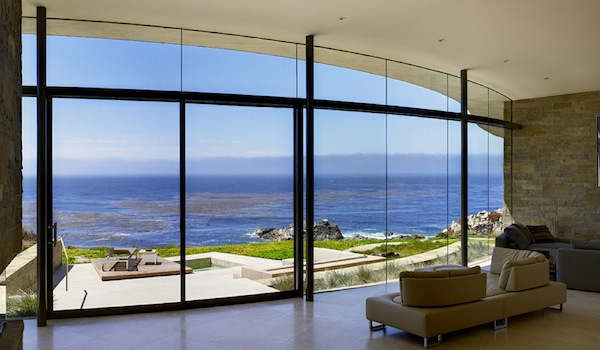 Taking advantage of the outdoors with floor to ceiling windows - What are floor to ceiling windows called ...