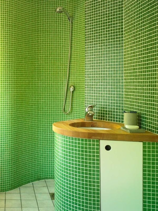 Bathroom Tile Ideas Green how to use green in bathroom designs