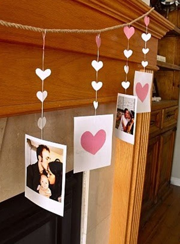 20 Gorgeous Valentine\'s Day Mantel Décor Ideas