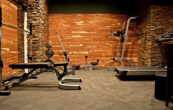 home gym materials