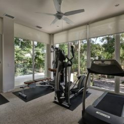 home gym views