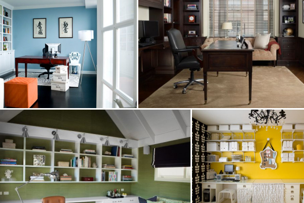 How to decide which color is best for your home office for Pictures for your office