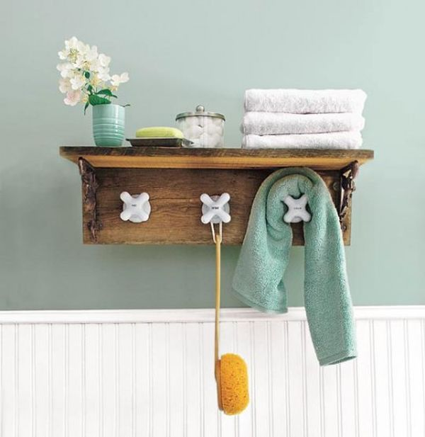 Coat Hook Ideas Part - 15: Hooks From Faucets.