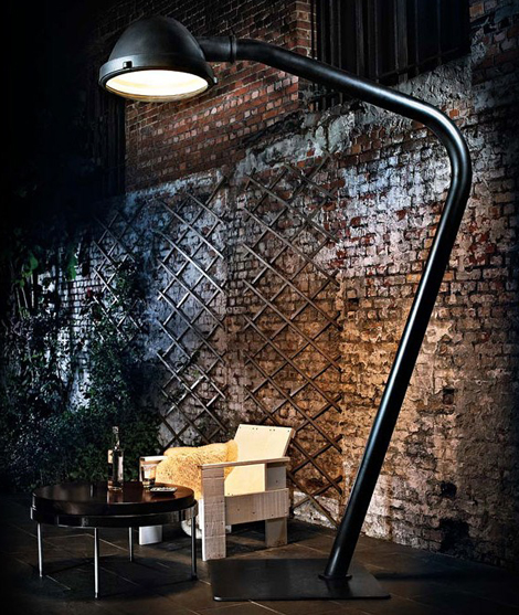 eye catching industrial style lighting fixtures. Black Bedroom Furniture Sets. Home Design Ideas