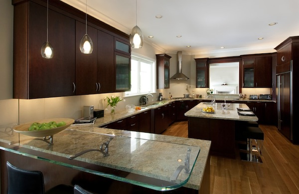 Kitchen Counter Ideas simple ideas to change your kitchen with glass