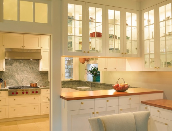 2 sided glass kitchen cabinets simple ideas to change your kitchen with glass 10110