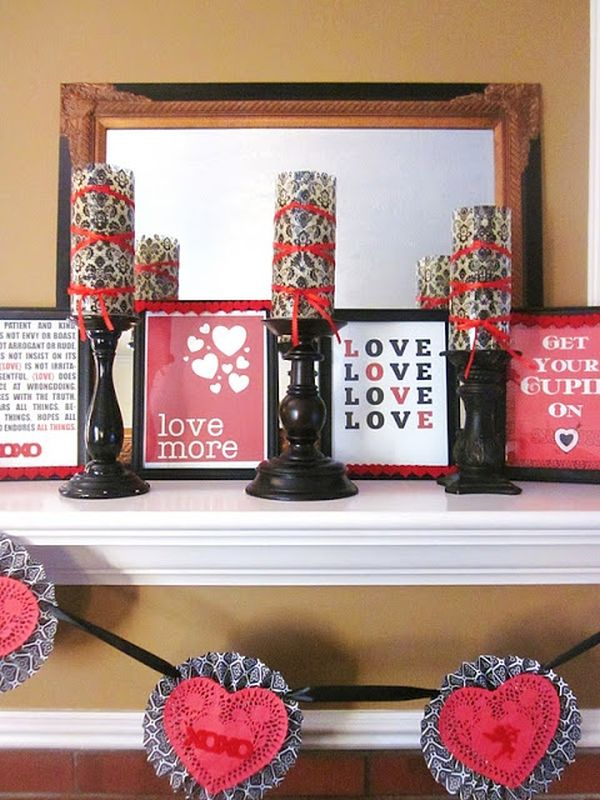 20 Gorgeous Valentine S Day Mantel D 233 Cor Ideas