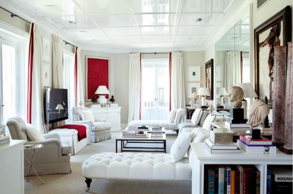 Luis Bustamante\'s stylish, symmetrical, classical and modern interiors