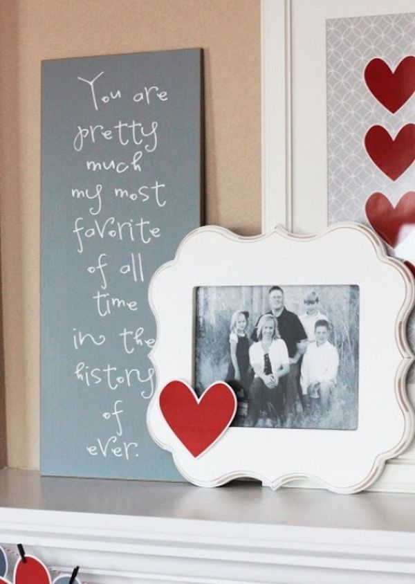 20 Gorgeous Valentine S Day Mantel Decor Ideas