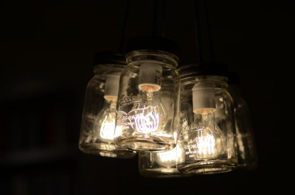 High Quality Mason Jar Chandelier. Awesome Ideas