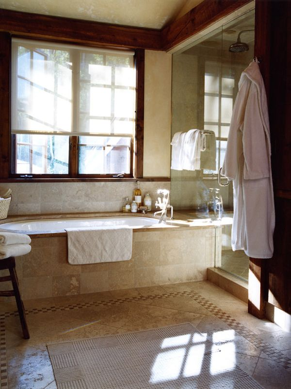 Turning Your Bathroom Into A Cozy