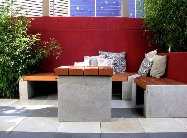 Stunning Fabriquer Une Table De Jardin En Ciment Photos ...