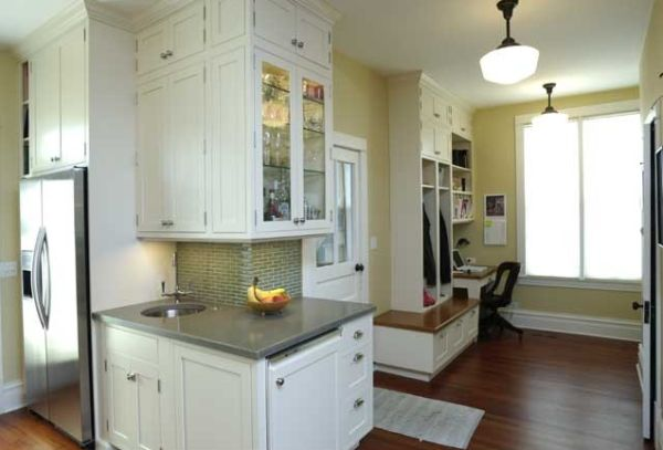 Small space mudrooms for Mudroom office