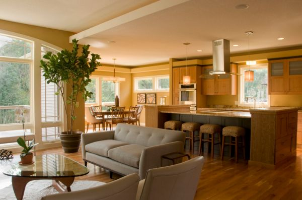 What You Should Know Before Choosing An Open Floor Plan For Your Home - Open floor plan