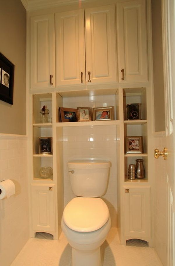 Five Great Bathroom Storage Solutions - Bathroom racks and shelves for small bathroom ideas