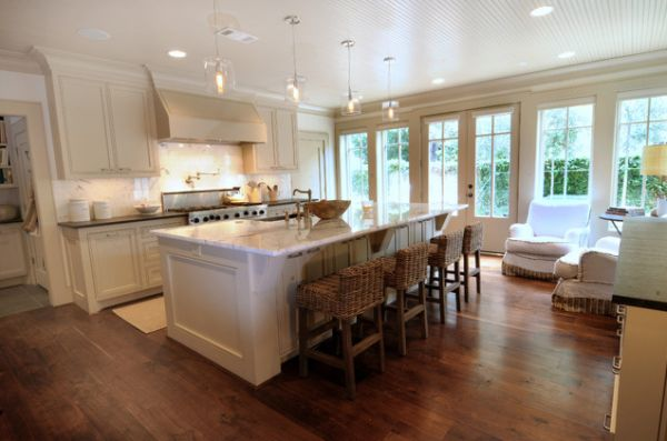 Kitchen With Island Images 37 multifunctional kitchen islands with seating