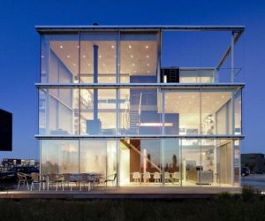 The Beautifully Balanced Rieteiland House from Amsterdam
