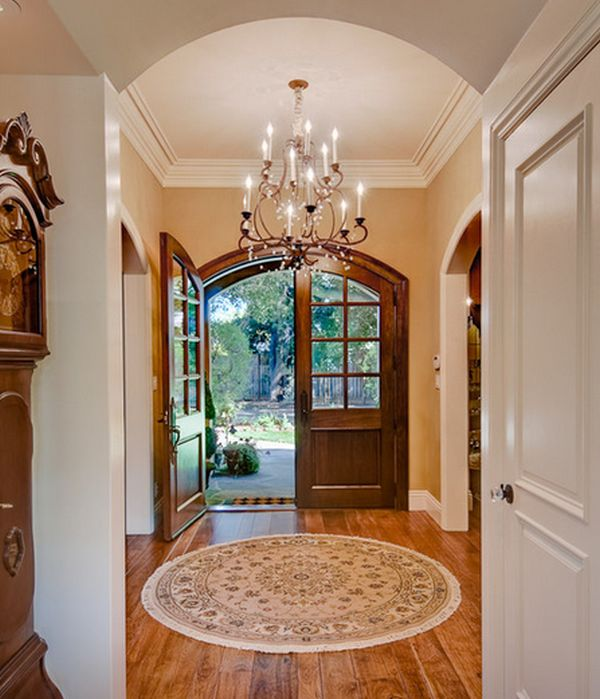 House Plans With Round Foyer : Things to keep in mind when choosing an entryway rug