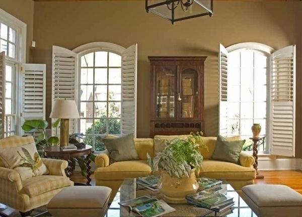 shutters living room