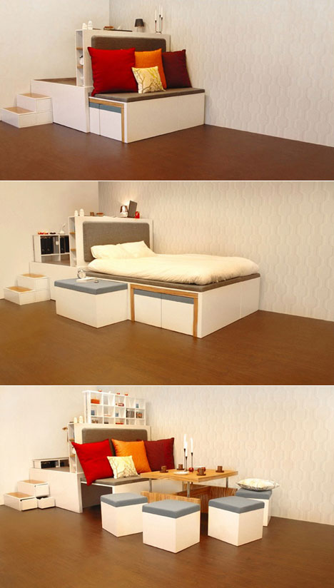 multipurpose bedroom furniture for small spaces 17 multi purpose furniture that changes function in no time 20729
