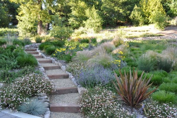 Landscape Design Inspiration For A Hilly Garden