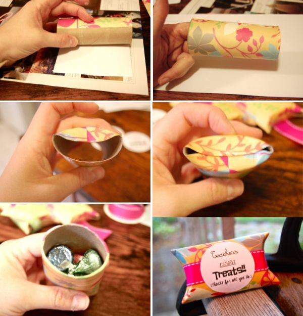 10 creative ideas for reusing toilet paper tubes for Creative ideas with paper