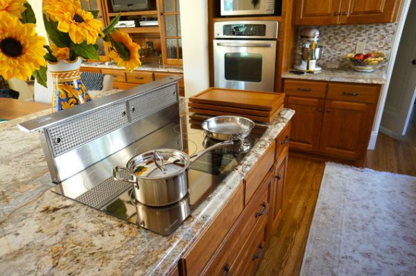 Great ... Contemporary Kitchens, Induction Cooktops Blend In Perfectly. View In  Gallery ...