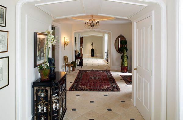 Foyer Rug Rules : Things to keep in mind when choosing an entryway rug