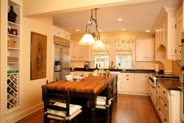 ... Kitchen Island Can Also Become A Dining Table For Casual Guests View In  Gallery ...
