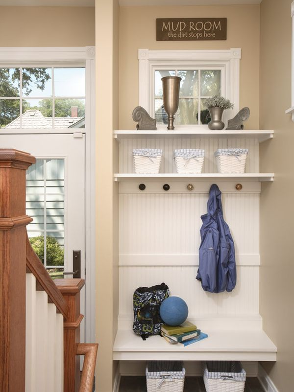 Small Space Mudrooms