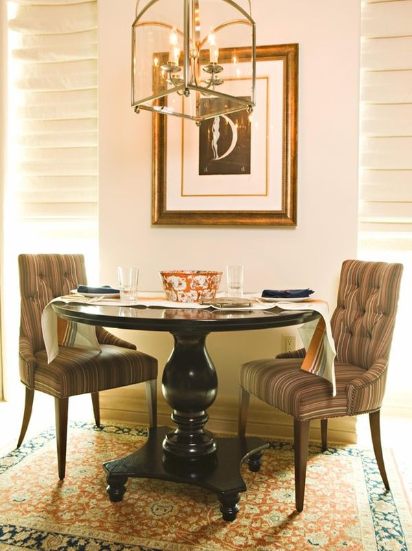 Pedestal Tables Amp Their Chic Chair Counterparts