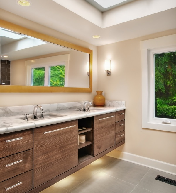 10 Amazing Ideas To Utilize The Space Under The Sink For Storage: Finding Hidden Bathroom Storage Under Your Open Vanity