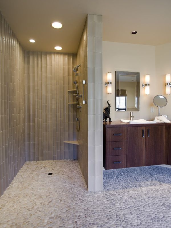 Bathroom walk in shower ideas Small Bathrooms Homedit Pros And Cons Of Having Walkin Shower