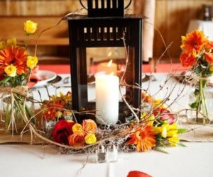 DIY Wedding Reception Centerpiece Ideas