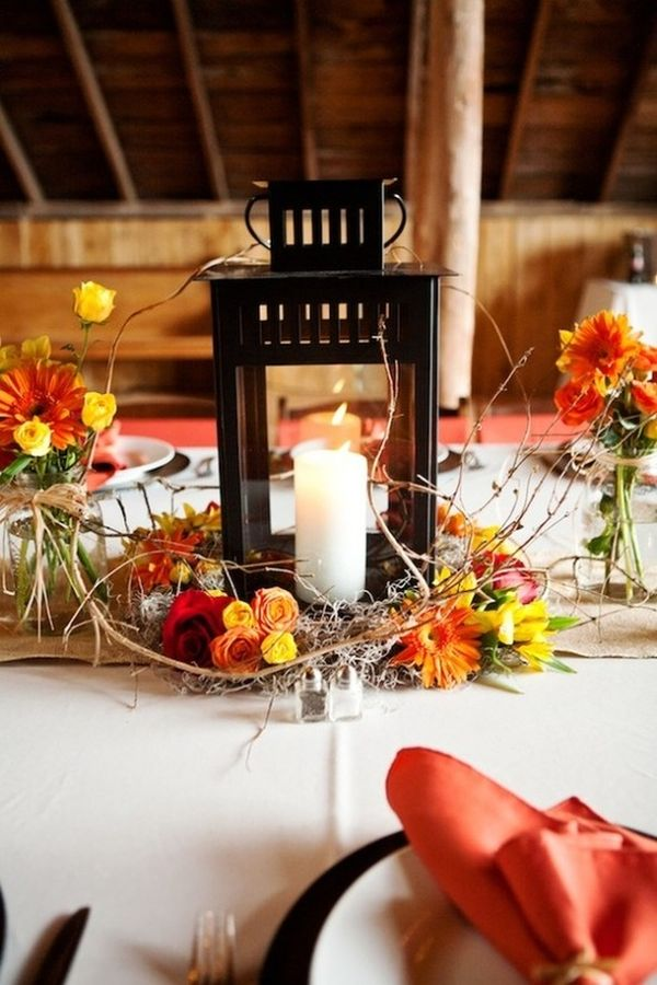 DIY Wedding Reception Centerpiece Ideas Pictures Gallery