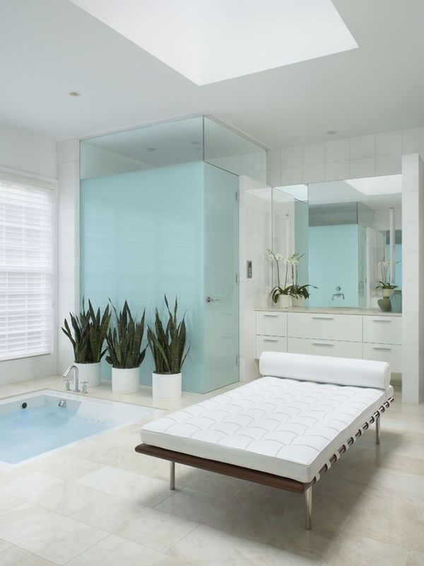 15 beautiful bathrooms featuring sunken bathtubs