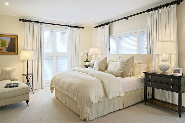winter white bedroom