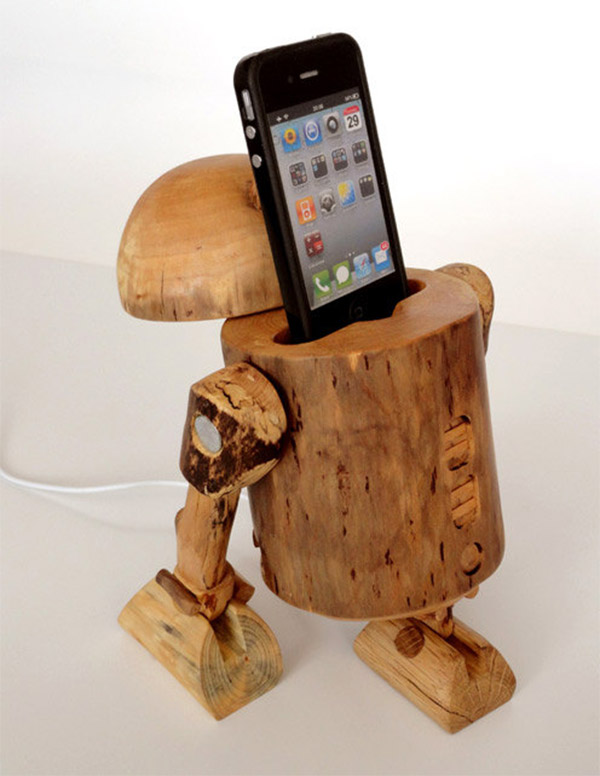 wooden iphone docking station 5 modern iphone stations 16526
