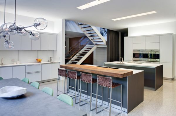... Kitchen Island To Become A Table In Both Traditional And Modern Homes  View In Gallery ...