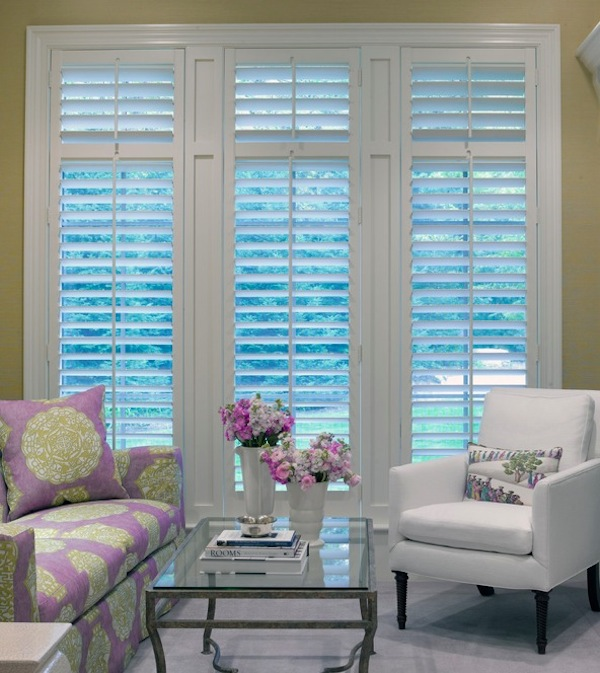 wood shutters ideas