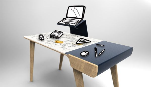 14 Modern Desk Designs For Eye Catching Decors Pictures
