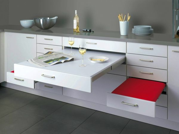 Merveilleux View In Gallery You Can Conceal Your Pull Out Table ...