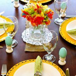 5 Springtime Tablescape Ideas