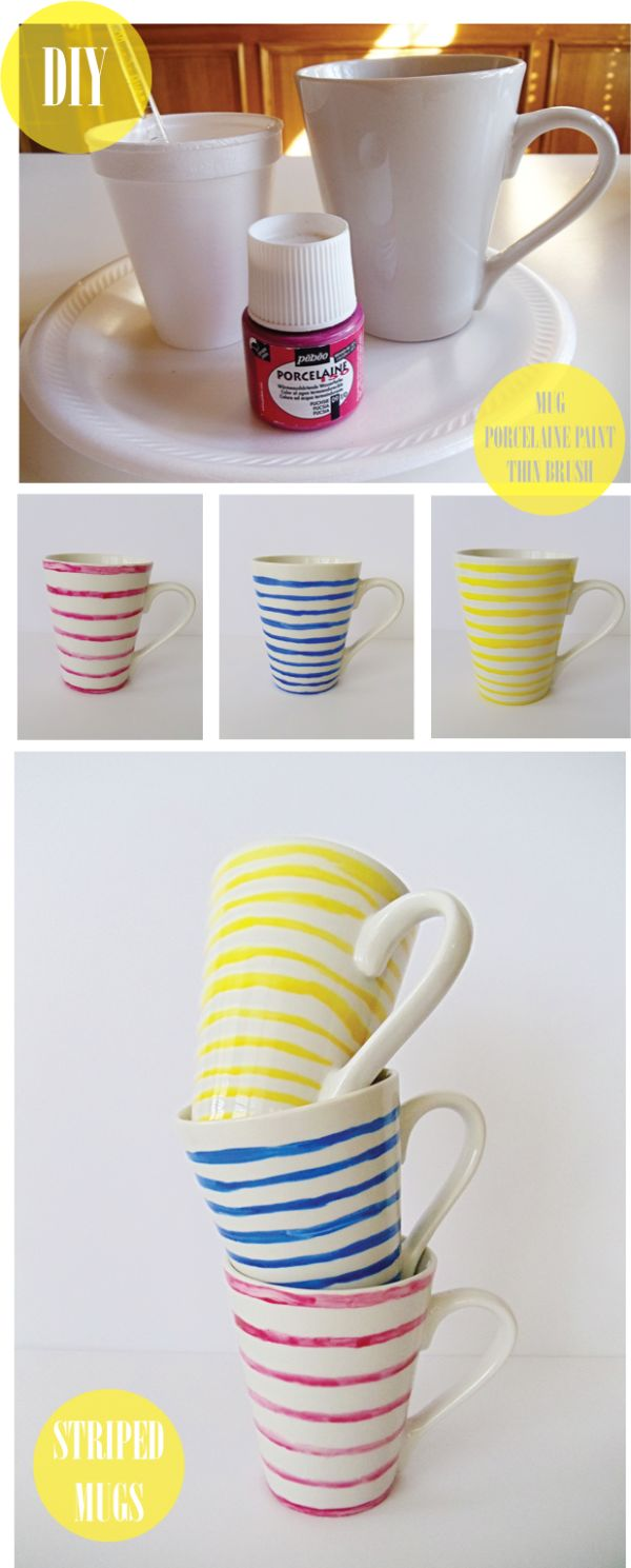 10 Diy Hand Painted Mugs A Great Gift For Everyone