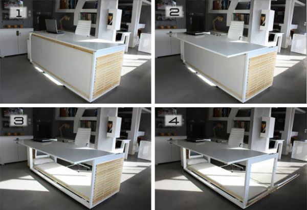 The Ingenious Desk Convertible Bed