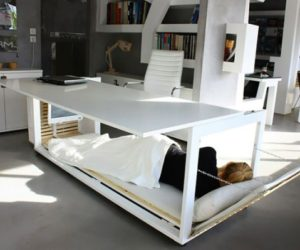 The ingenious Desk Convertible Bed, perfect for small spaces